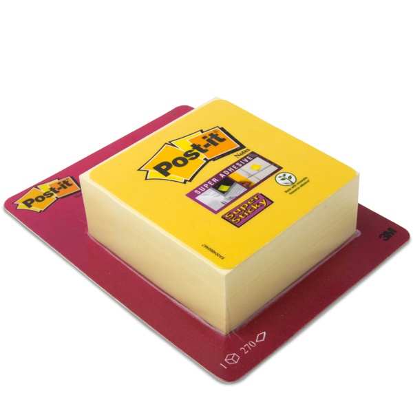 Post-it® Super Sticky Haftnotiz-Klotz