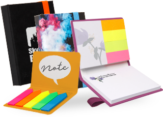 Haftnotiz-Sets Softcover & Hardcover